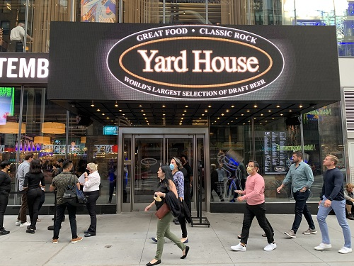 Yard House, Times Square, NYC