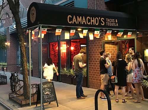 Camacho's, Mexican Restaurant, Union Square, NYC