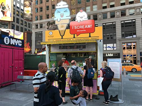 Ice Vice Times Square New York City Nyc Reviews Menus Hours