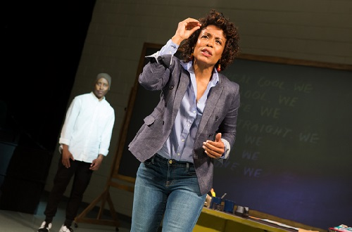 Dominique Morriseau's new play, Pipeline, Off Broadway, NYC