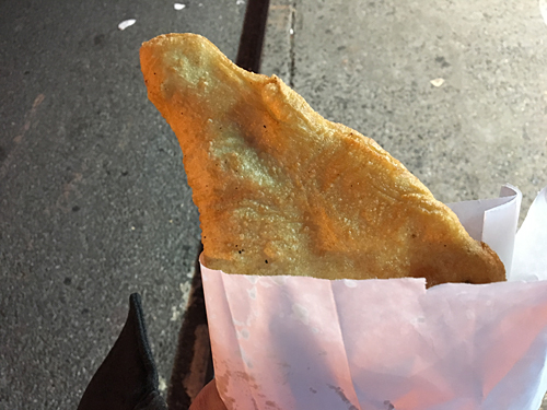 sorbillo, pizza fritta, fried calzones, litttle italy, chinatown, nyc