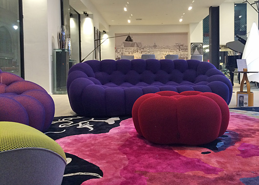 roche bobois paris new york city nyc shops nightclubs bars landmarks. Black Bedroom Furniture Sets. Home Design Ideas