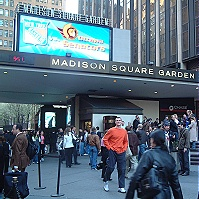 Madison Square Garden New York City Nyc Shops Nightclubs Bars Landmarks