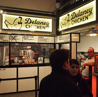 Delaney Chicken at Vanderbilt