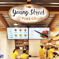 Young Street Poke Co. at Queens Crossing