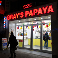 Gray's Papaya Times Square