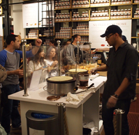Nutella Bar at Eataly