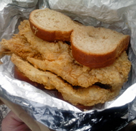 Bed stuy fish fry new york city nyc reviews menus hours for Bed stuy fish fry menu