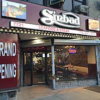 Sinbad Seafood Steak New York City Nyc Reviews Menus