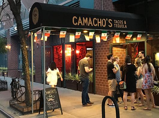 Camachos New York City Nyc Reviews Menus Hours