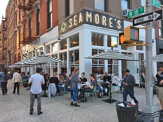 Seamore S New York City Nyc Reviews Menus Hours
