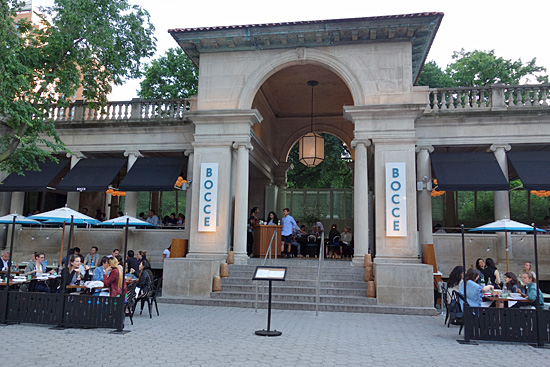 Bocce At Union Square New York City Nyc Reviews Menus Hours