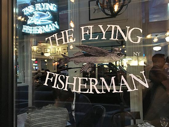The Flying Fisherman New York City Nyc Reviews Menus Hours