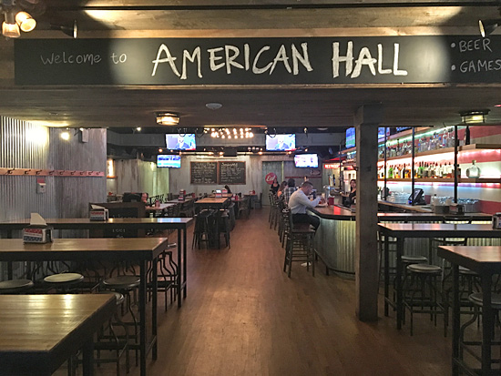 American Hall New York City Nyc Reviews Menus Hours