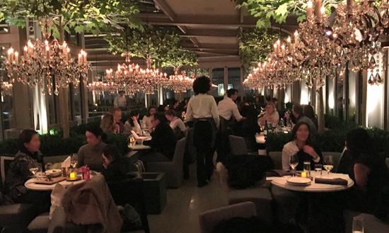 Rh New York Rooftop Restaurant New York City Nyc Reviews