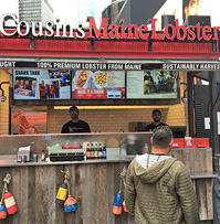 Cousins Maine Lobster Times Square