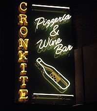Cronkite Pizzeria and Wine Bar