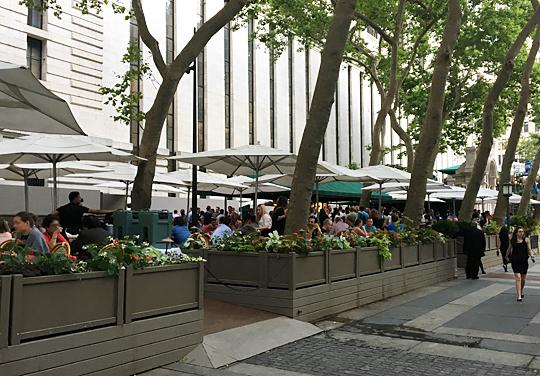 Bryant Park Cafe New York City Nyc Reviews Menus Hours