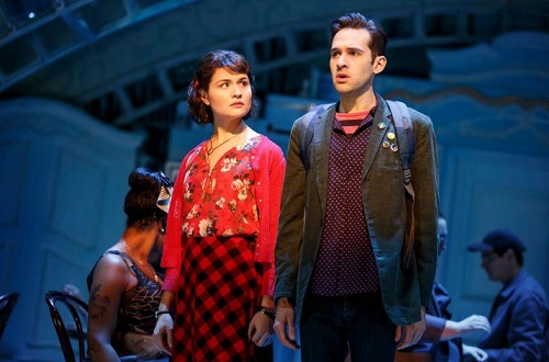 Phillipa Soo stars in Amelie on Broadway