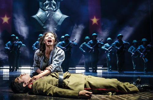 Action-packed Miss Saigon is back at The Broadway Theatre