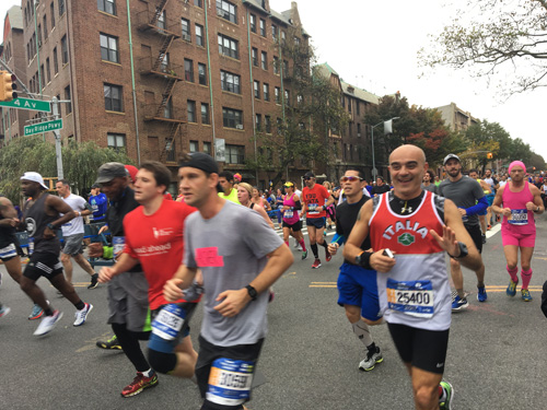 New App Will Allow Fans to Simultaneously<br>Track Runners in NYC Marathon