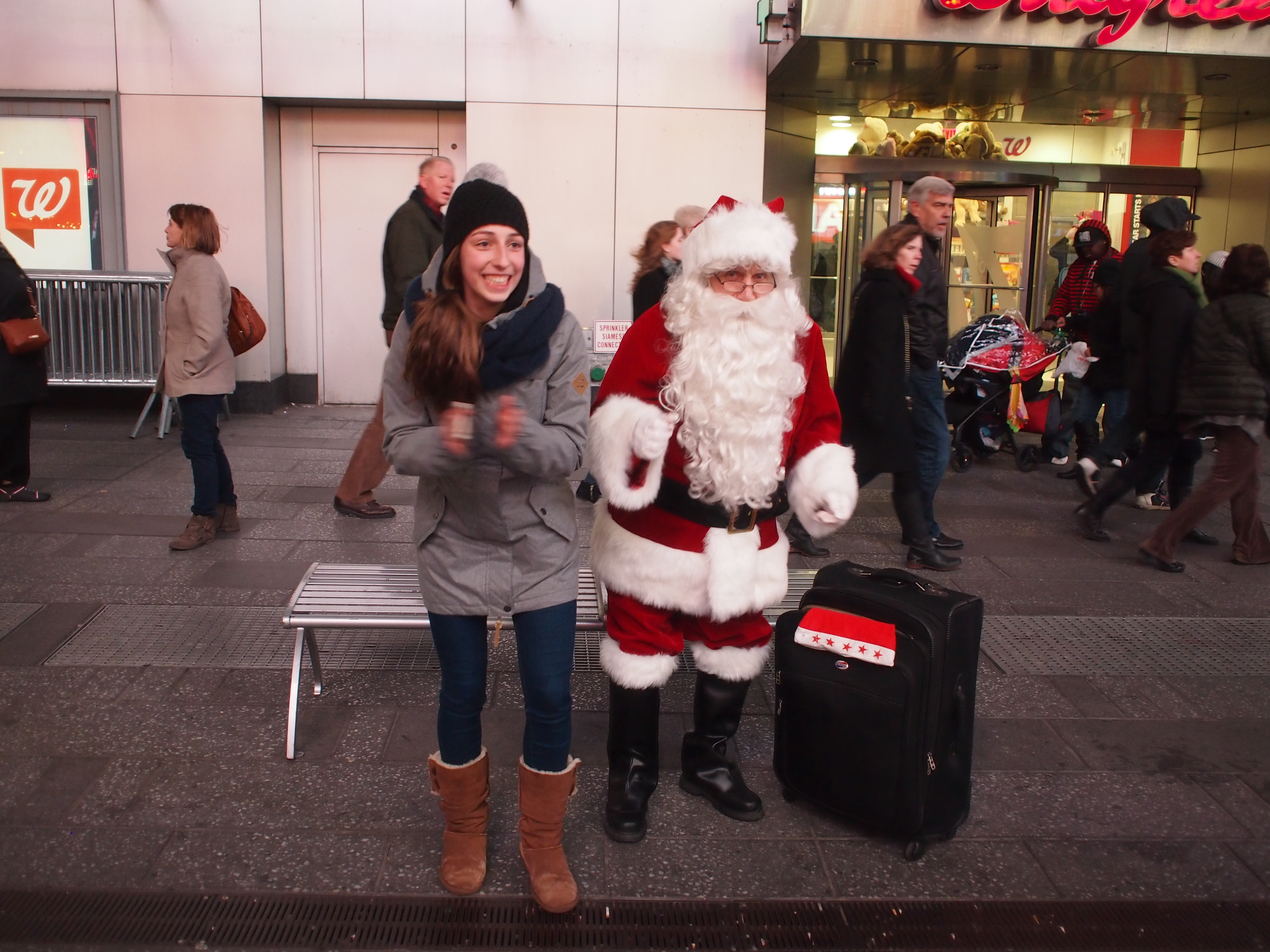 Where to find a holiday santa<br>in NYC this year