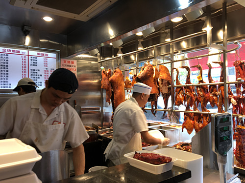 Chinese-style meats at The Roast in Sunset Park