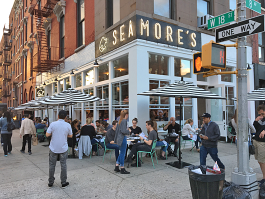 Seamore's for Seafood in Chelsea