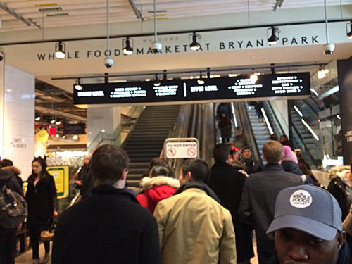 Whole Foods arrives at Bryant Park