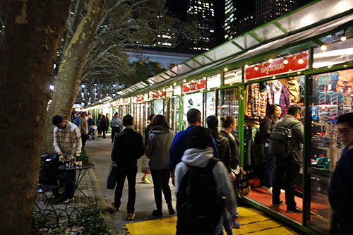 Your Guide to this year's holiday shops at Bryant Park
