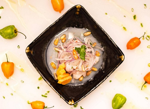 Ceviche and more at Dayboat
