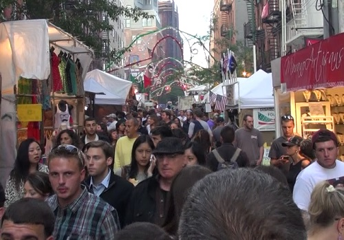 The Feast of San Gennaro Returns<br>to Mulberry Street Sept 16-26