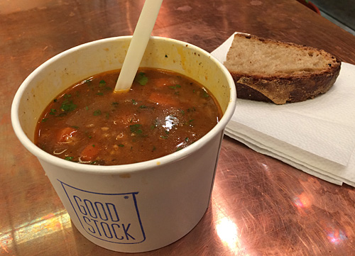 Souped up at Good Stock in West Village